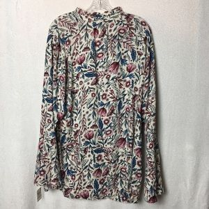 Style & Co Tops - Style & Co Floral Print Romantic Charm Blouse
